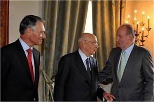 Capurro Ricevimenti A Palazzo della Meridiana, un grande evento internazionale col Re di Spagna, il Presidente Napolitano ed il Presidente del Portogallo. image 1