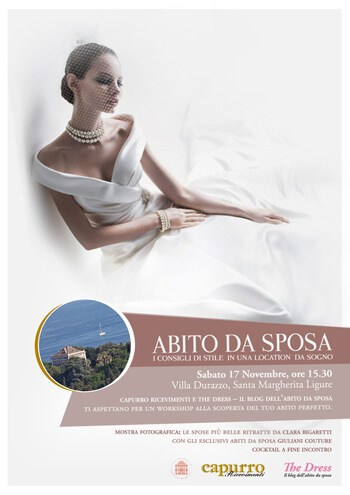 workshop abito sposa