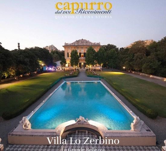 Capurro Ricevimenti Dal 5 maggio 2014, una nuova location esclusiva Capurro Ricevimenti a Genova: Villa Lo Zerbino image 1