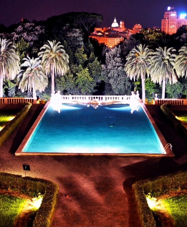 villa lo zerbino piscina