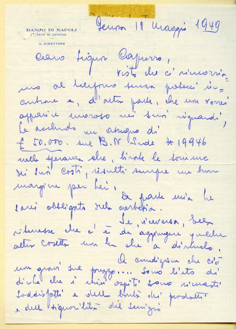 Capurro Ricevimenti Storia image 75