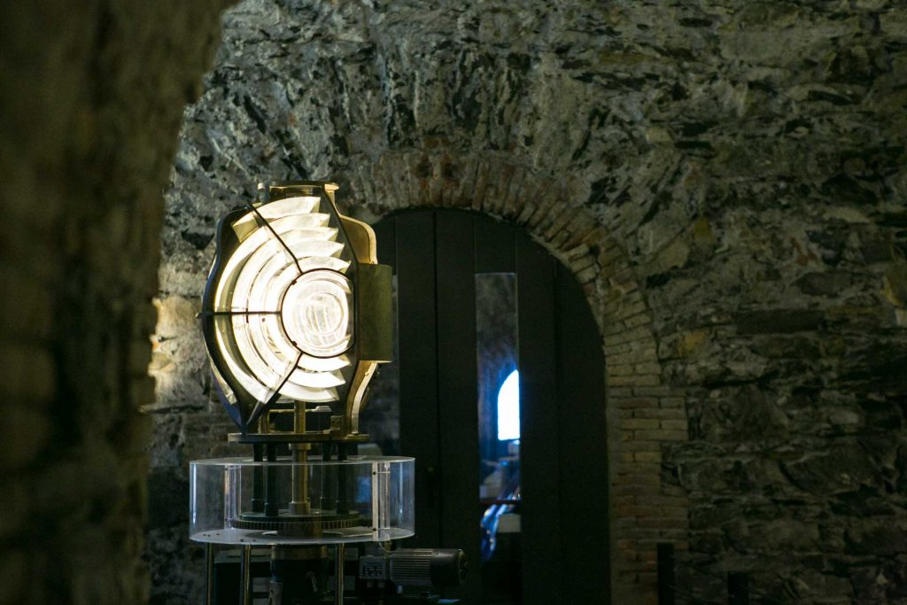Lanterna di Genova particolare della sala interna